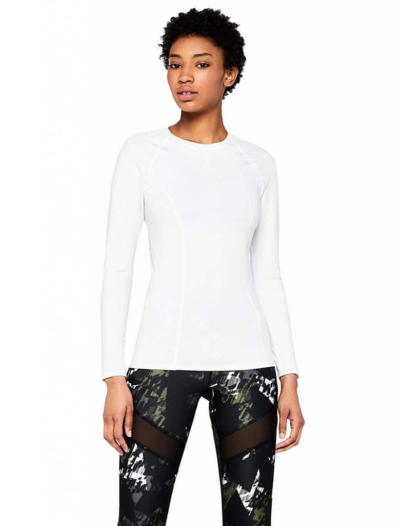 Camisetas Deportivas blancas para mujer