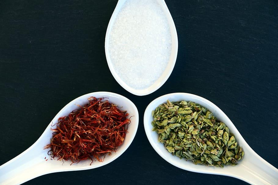 Té verde y rojo