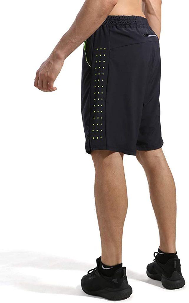 pantalón corto fitness